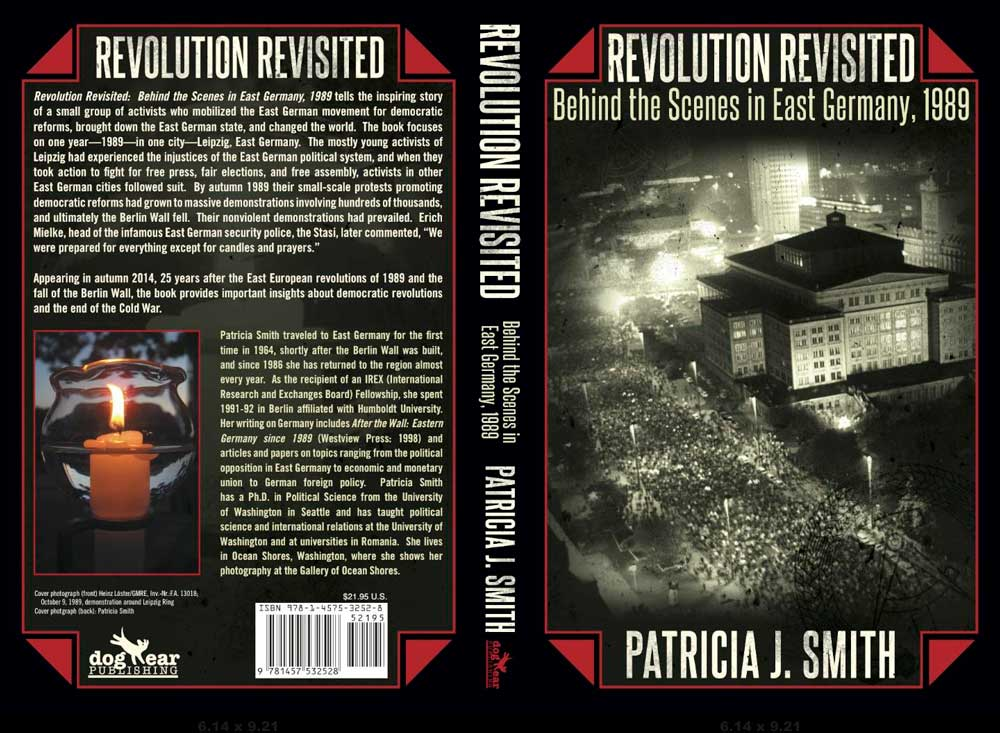 Book cover for Revolution Revisited: Behind the Scenes in East Germany, 1989